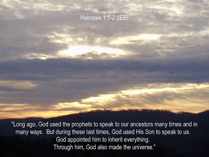 Hebrews 1 -Image-Linda Claassen Mitchell