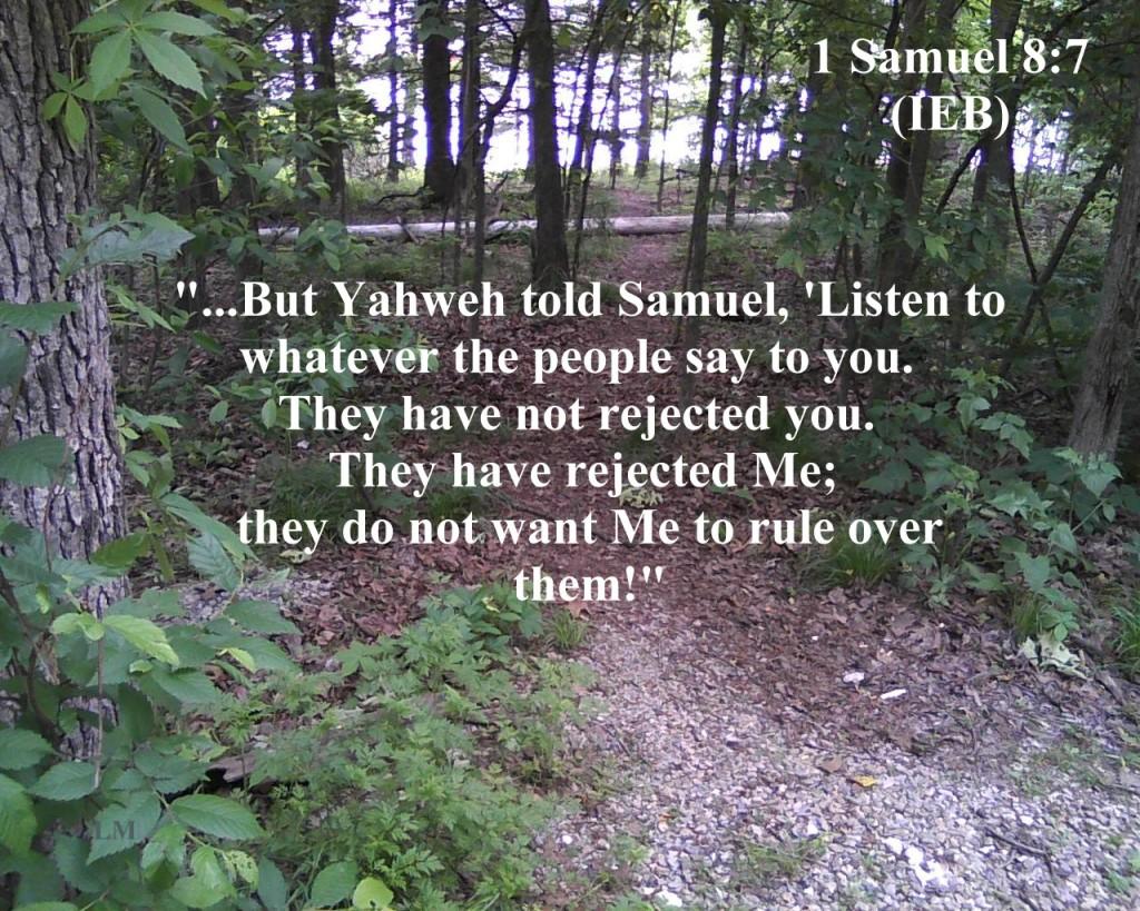 1 Samuel 8:7 image